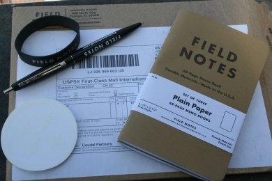 Field Notes Päckchen