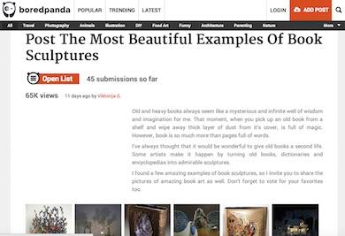 19c4e1ababe902 Der Artikel ist eine Fundgrube für wunderbare Buchskulpturen. Unbedingt  anschauen und staunen!
